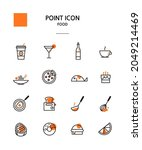 various point color icon... | Shutterstock .eps vector #2049214469