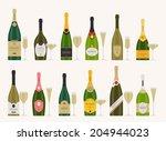 vector set of different... | Shutterstock .eps vector #204944023