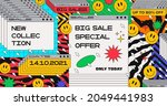 abstract trendy sale banner...