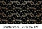 attern with golden lines ...   Shutterstock .eps vector #2049557129