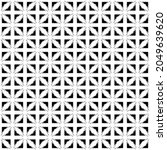 black and white surface pattern ...   Shutterstock .eps vector #2049639620