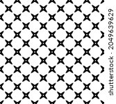 black and white surface pattern ...   Shutterstock .eps vector #2049639629
