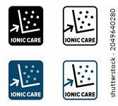 """ionic care"" vector information ... | Shutterstock .eps vector #2049640280"