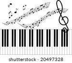 illustration of music | Shutterstock .eps vector #20497328