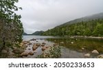 View Of Eagle Lake In Acadia...