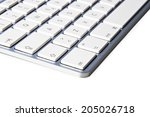 angle of keyboard of the... | Shutterstock . vector #205026718