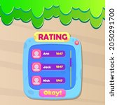 game ui rating chart users set...