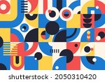 geometry minimalistic artwork...   Shutterstock .eps vector #2050310420