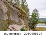 Rocky Outcrops On The Banks Of...