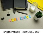 resilience made with colorful... | Shutterstock . vector #2050562159