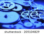 an image of gear | Shutterstock . vector #205104829