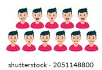 animation of conversational... | Shutterstock .eps vector #2051148800