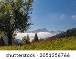 September Sunny Day In The Alps ...