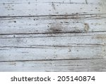 weathered old wooden wall... | Shutterstock . vector #205140874