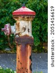 A Rusted Old Fire Hydrant...