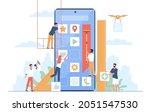 mobile application build. ui...