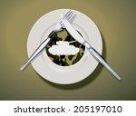 vector illustrator of do not... | Shutterstock .eps vector #205197010