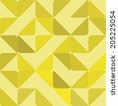 vector background  unusual... | Shutterstock .eps vector #205225054