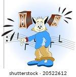 hip hop cat | Shutterstock . vector #20522612