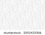 pattern with grey wavy lines...   Shutterstock .eps vector #2052425306
