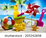 vacation background | Shutterstock . vector #205242838