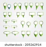 marks position | Shutterstock .eps vector #205262914