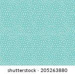 hand drawn pattern | Shutterstock .eps vector #205263880