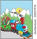 steam train illustration | Shutterstock . vector #20527976