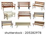 bench | Shutterstock . vector #205282978