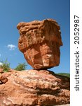 Balancing Rock At Garden Of The ...