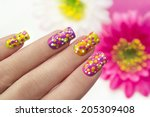 Colorful Manicure With...