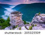 Fog In The Blackwater Canyon A...