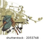 abstract,adolescent,art,background,bagpipe,border,clipart,concept,conceptual,concert,decoration,design,digital,expression,fresh