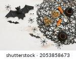 Top View Image Of Halloween...