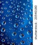 water drops background | Shutterstock . vector #20540180