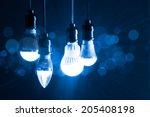light bulb new generation  | Shutterstock . vector #205408198