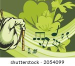 abstract,adolescent,art,background,bagpipe,border,clipart,concept,conceptual,concert,decoration,design,digital,expression,floral