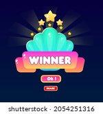 gui badge popup winner golden...