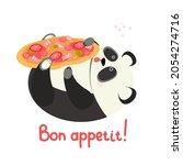 A Cute Overeating Panda Eats...
