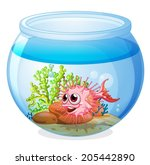 Illustration Of A Fish Inside...