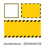 black and yellow line striped.... | Shutterstock .eps vector #2054440133