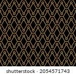 seamless pattern of hexagonal... | Shutterstock .eps vector #2054571743