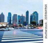 the scene of the century avenue ... | Shutterstock . vector #205464964