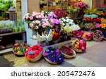 Outdoor Flower Market In Nice...