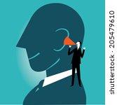 listen | Shutterstock .eps vector #205479610