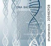 Dna Molecular Structure...