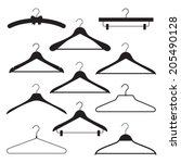Vector Set Of Different Clothe...