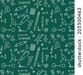 school doodle pattern | Shutterstock . vector #205500463