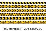 caution police line. danger...   Shutterstock .eps vector #2055369230