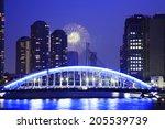 fireworks of tokyo bay | Shutterstock . vector #205539739